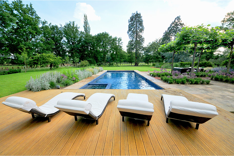 surrey swimming pool gardens. Black Bedroom Furniture Sets. Home Design Ideas