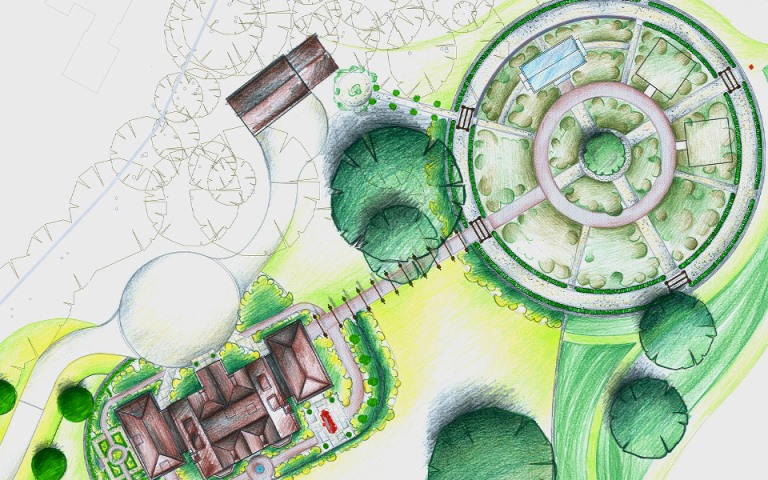 Garden-designers-Surrey--vegetable-garden-master-plan-Petersfield-Hampshire