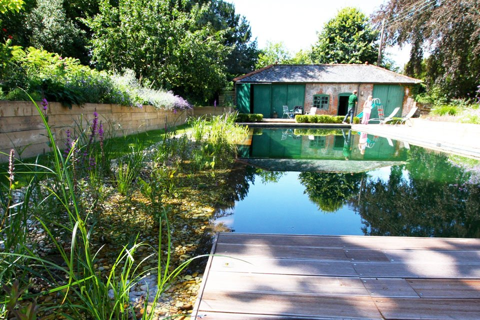 Surrey Garden Designer Home Swimming Pool Designs