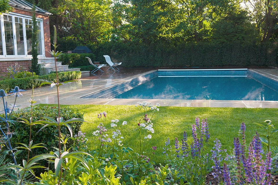 Surrey Garden Designer Landscape Design Swimming Pool Construction