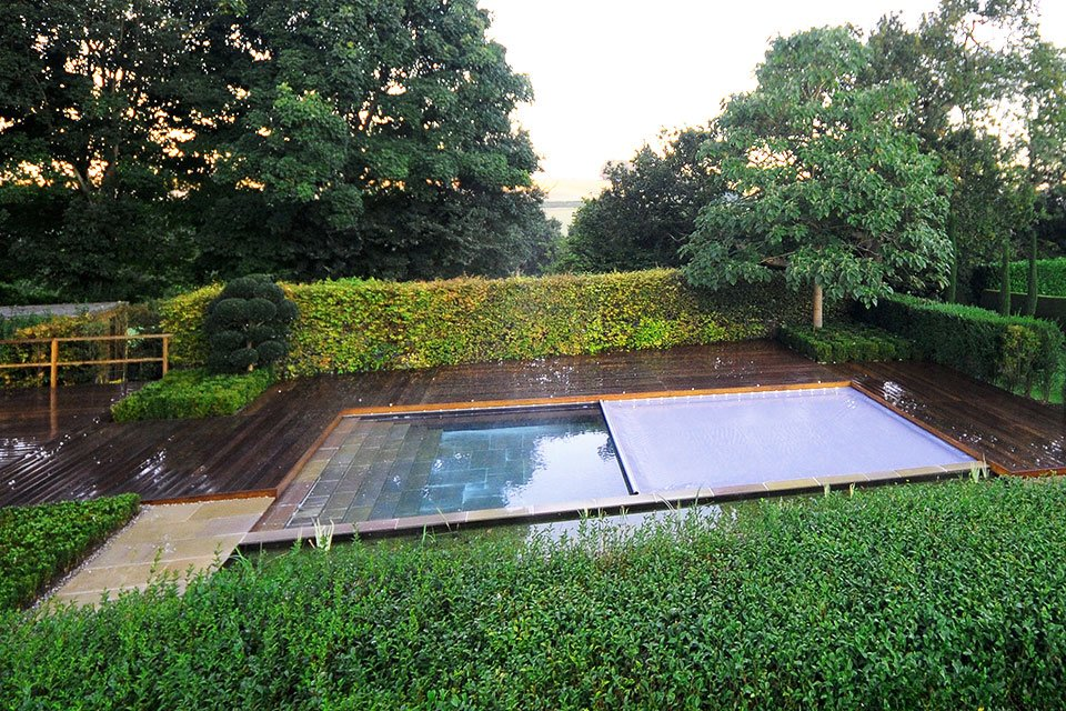 Garden Pools Los Angeles Modern Cascade Garden Pool Designed By Luxe Swimming 17 Best 1000 Ideas