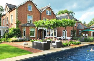 Surrey-garden-designs-Guildford,-country-house-swimming-pools