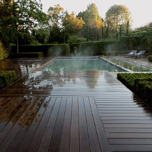 The english garden every element designed with a purpose for English garden pool
