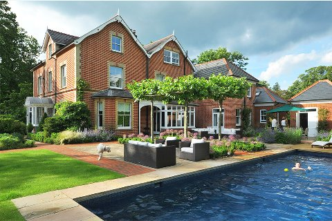Surrey-garden-designer-Cobham-swimming-pool